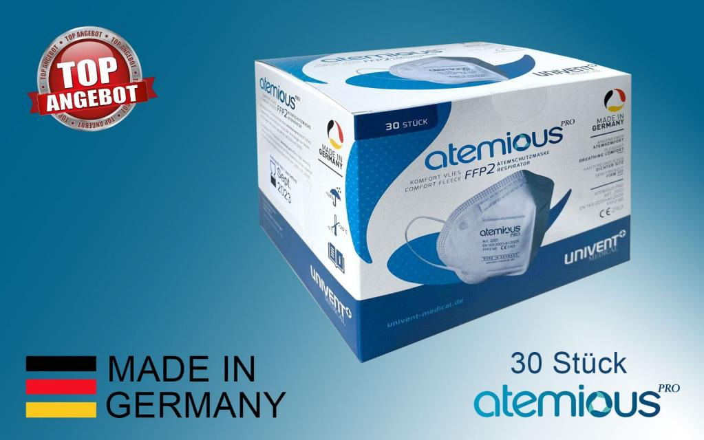 Atemschutzmaske - Hergestellt in Deutschland