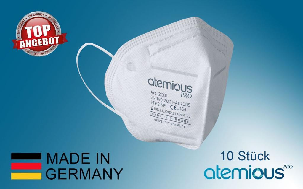 Atemschutzmaske - Mund & Nasenschutz Made in Germany